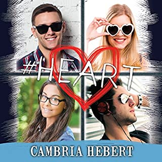 #Heart     Hashtag Series #6              Written by:                                                                                                                                 Cambria Hebert                               Narrated by:                                                                                                                                 Chandra Skyye,                                                                                        Eric Michael Summerer                      Length: 12 hrs and 31 mins     Not rated yet     Overall 0.0