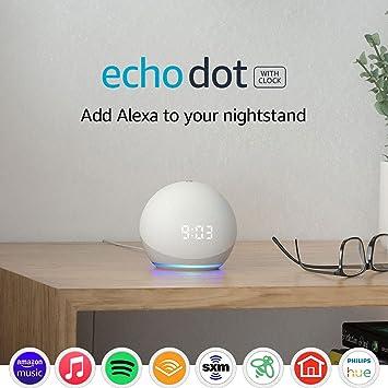 Amazon Echo Dot (4th Gen) With Clock