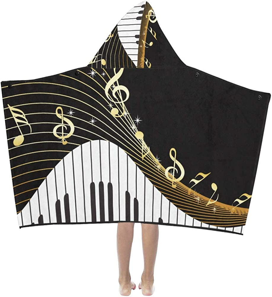 Kids Travel Recommended Blanket Romantic Art Piano with Mail order K Musical Keys Notes