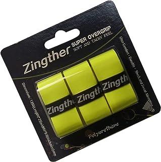 Zingther Premium Super Tacky Tennis Racquet Grip Tape, Overgrips for Badminton Racket, Cricket Bat, Baseball/Softball Bat ...