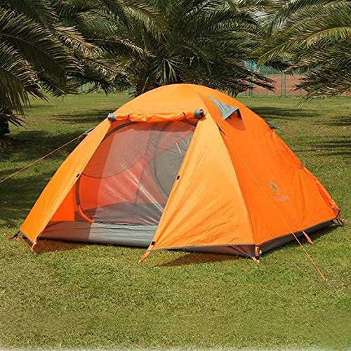 Orpio Polyester Camping Portable Dome Tent For SIx Person With Bag (Multicolour)
