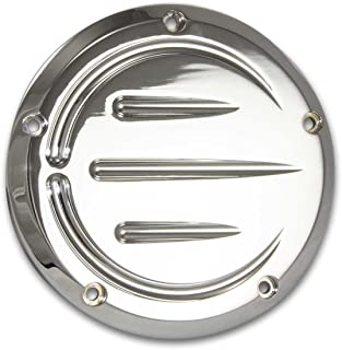 Bagger Brothers HD-DCP-LH-008-CH Chrome Billet DERBY COVER (PRIMARY) Harley Davidson: Dyna   2006-2015, Softail   2007-2015, Touring   2007-2015, Touring V-Twin   1999-2015, Touring EVO   1999-2015
