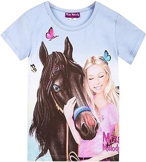 Miss Melody Niña T-Shirt, Camiseta, Azul