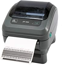 Zebra ZP 450 ZP450-0201-0000A Direct Thermal Barcode Label Printer Network USB Peeler 203dpi