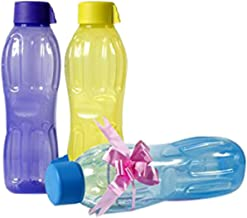 Signoraware Aqua Fresh Plastic Water Bottle, 1 Litre, Assorted Colours(Buy 2 Get 1 Free)