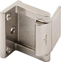 PRIME-LINE Bloqueador de porta de hotel/batente de porta em níquel, prata (MP4937)