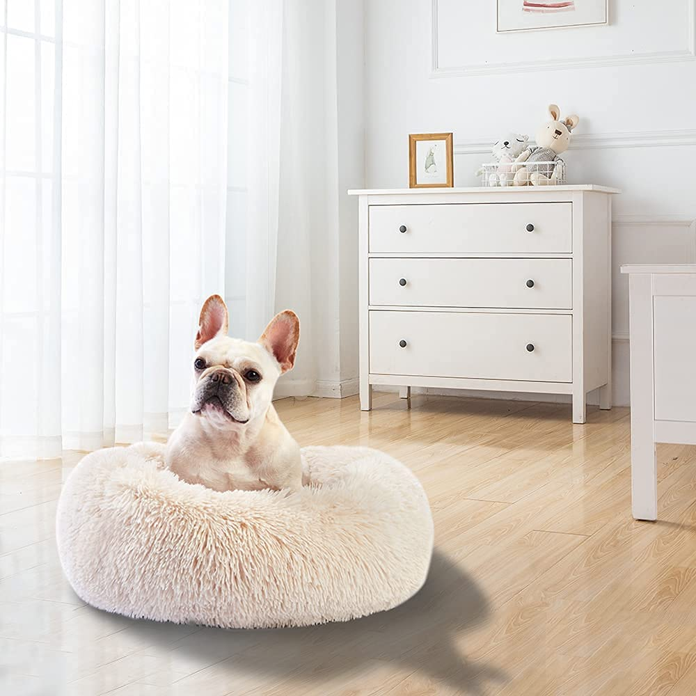 STVICTORY Calming Dog Bed for Be Pets Medium Large Washable Japan Very popular! Maker New