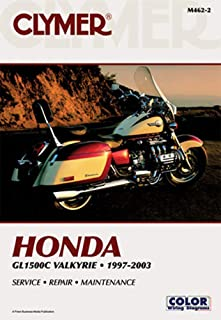 1997-2003 Honda GL1500C Valkyrie CLYMER MANUAL HONDA GL1500C VALKYRIE 97-03, Manufacturer: CLYMER, Manufacturer Part Number: M4622-AD, Stock Photo - Actual parts may vary.