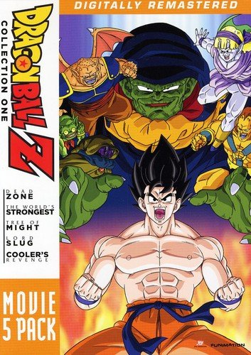 Dragon Ball - Z Movie Pack Collection One (Movies 1 to 5)