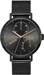 ساعة نيكسون A1166-1420 للنساء لون أسود ستانلس ستيل 38 مم