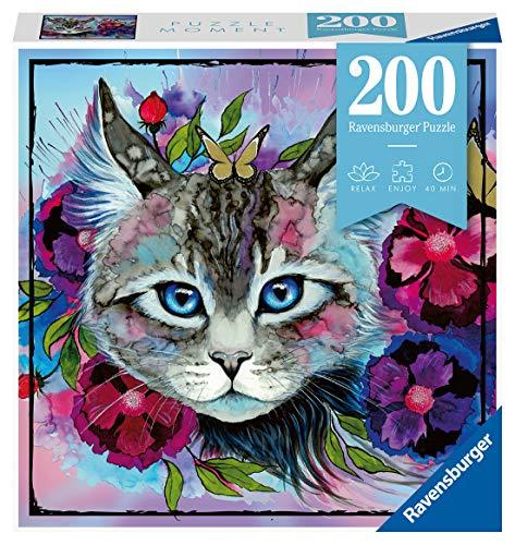 Ravensburger Puzzle 12960 Cateye - 200 Teile Puzzle für Erwachsene und Kinder ab 14 Jahren