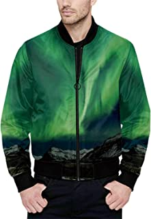 Hitecera Moroccan Funny Bomber Jacket for Fashion XS