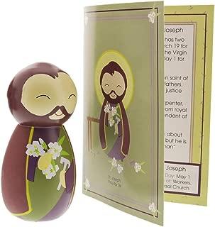 Shining Light Dolls Saint Joseph, Foster-Father of Jesus Collectible Vinyl Figure
