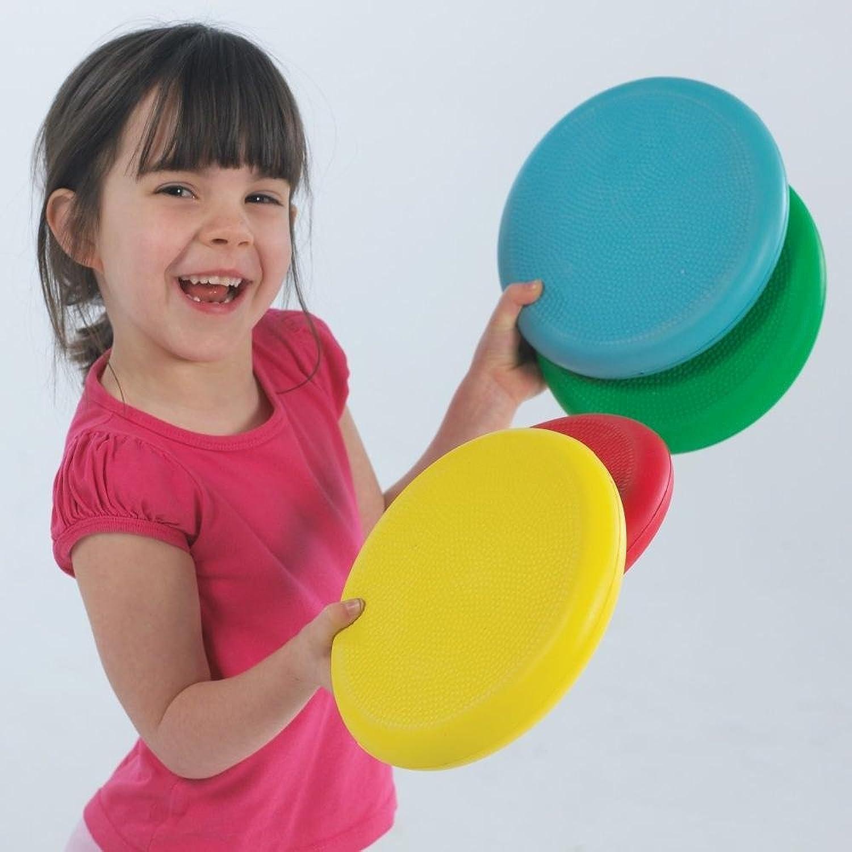 Kids Garden Games Catch & Throw Foam Flyers Set Of 4 Assorted Colour