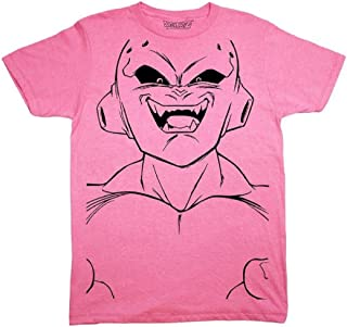 Dragon Ball Z Majin Buu Kid Buu grande cara línea arte adulto camiseta