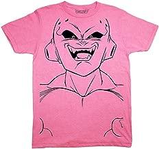 Dragon Ball Z Majin Buu Kid Buu Large Face Line Art Adult T-Shirt