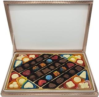 Hediyelik Karma Dolgulu Special Çikolata Kutusu ( 520 gr ) Bronz