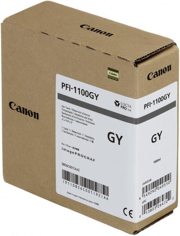 Canon Ink PFI-1100 Grey, 0856C001AA