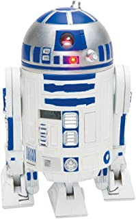 Star Wars R2-D2 Projection Alarm Clock, White