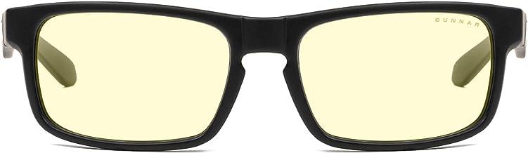 Gaming Glasses | Blue Light Blocking Glasses | Enigma/Smoke by Gunnar | 65% Blue Light Protection, 100% UV Light, Anti-Reflective, Protect & Reduce Eye Strain & Dryness