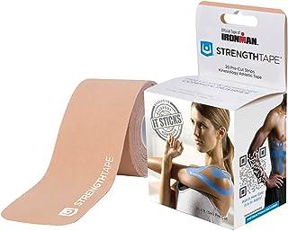 StrengthTape Precut Roll Kinesiology Tape - Beige