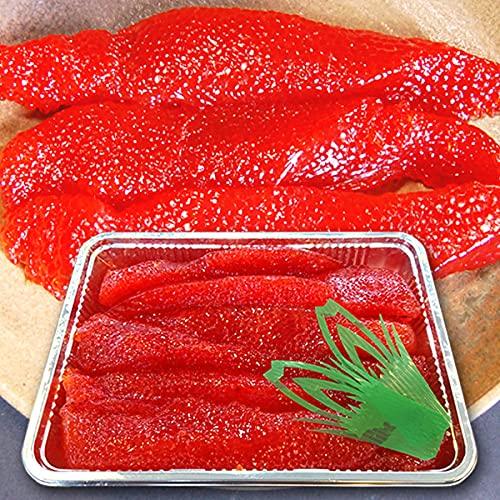 魚水島 極上品 筋子「旨味濃厚・粒揃い筋子」甘口筋子 甘塩すじこ 1kg