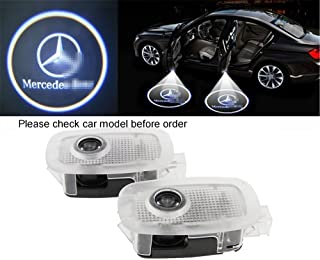 Car Door LED Lighting Entry Ghost Shadow Projector Welcome Lamp Logo Light for Mercedes Benz W221 benz S Class AMG S550 S500 S350 S63 S65 2006-2013, 8 Different Car Models