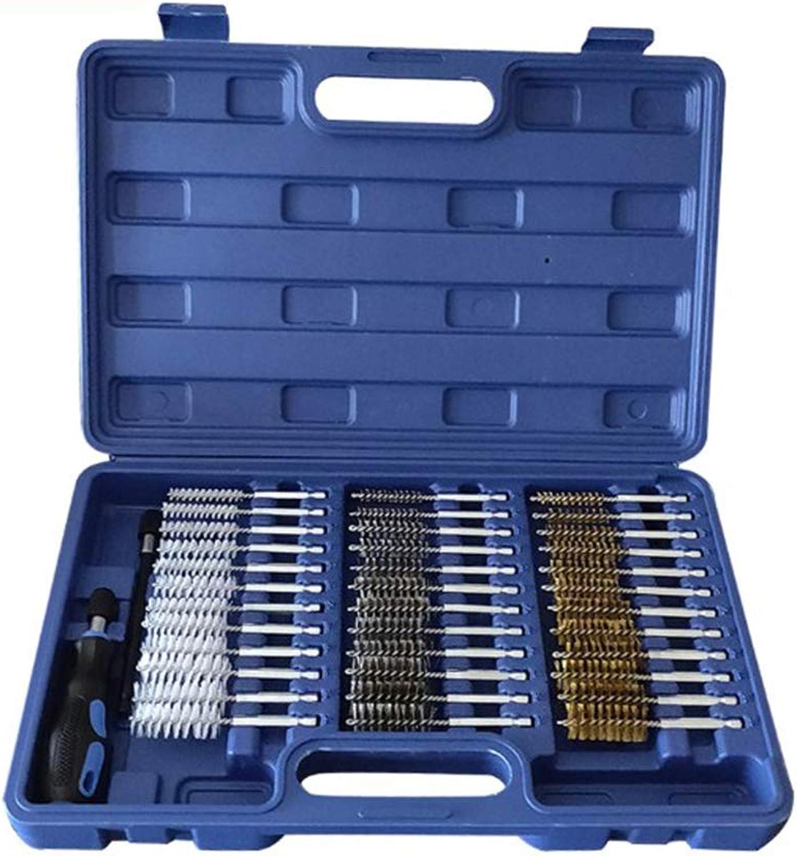 XuBa 38-teiliges Set Rohrbürste Rohrbürste Rohrbürste Innenwand Reinigungsbürste Motor Draht Bürste Reinigungsset B07P7LZM4L a13e35