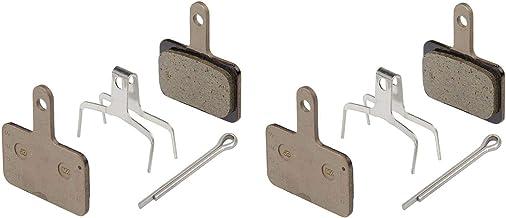 SHIMANO 2 Pairs Disc Brake Pads & Spring B01S (Resin)