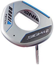 PING Sigma 2 Fetch Platinum Putter (PING PP60 Pistol Putter Grip - Midsize) (Right, Adjustable 32-36)
