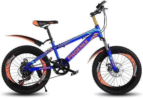 ETZXC Kinderfürr r Kinder Mountainbike Kinder 20-Zoll-fürrad mit Variabler Geschwindigkeit Junge mädchen zur Schule fürrad Outdoor Travel fürrad
