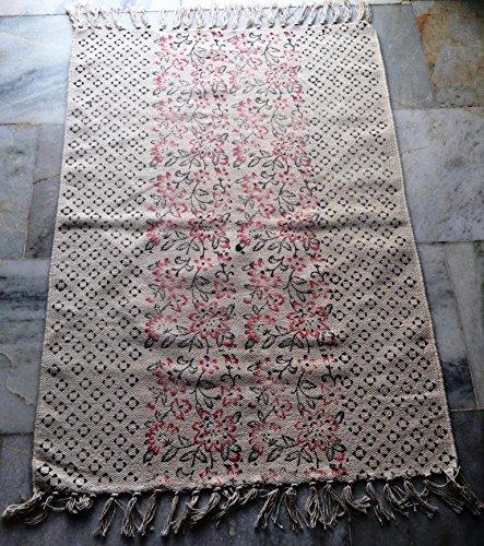 silkroude Tapis kilim turc kilim en coton fait à la main