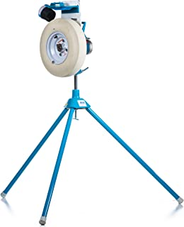 Jugs Jr. EX Baseball Pitching Machine — The Most Durable Pitching Machine Ever Made. New 7 Year Guarantee. Perfect for Youth Leagues, backyards and Travel-Ball Teams.