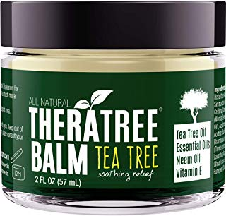 Tea Tree Oil Balm with Neem Oil - Helps Fight Skin Irritation and Helps Soothe Dry, Itchy Skin - by Oleavine TheraTree