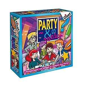 Diset - Juego Party & co Junior - Juego de mesa infantil a partir de 8 años