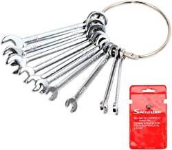 """SPEEDWOX Mini SAE Ignition Wrench Set 10 Pcs 5/32""""-7/16"""" Standard Small Wrench Inch Combination Open and Box End Set Mini ..."""