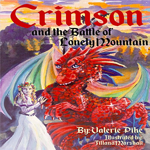 Crimson and the Battle of Lonely Mountain audiobook cover art
