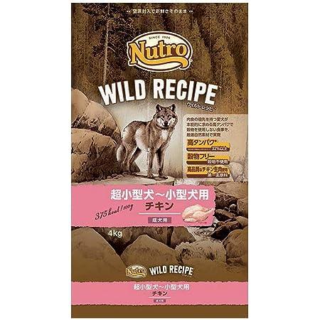 ニュートロジャパン ワイルド レシピ [超小型犬-小型犬用] 成犬用 チキン 4kg