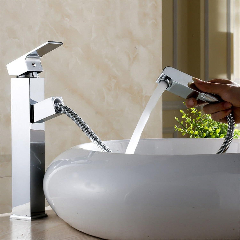 Modern Bathroom Basin Faucet   Bathroom Sink Faucet   Bathroom Raised, Above Counter Basin Faucet   Pull-Out Basin Faucet Hot and Cold Faucet Basin faucet Bathroom Sink Tap with Bathroom Basin Mixer Tap Bathroom Mixer Tap Bathroom Basin Sink Faucet Bathro