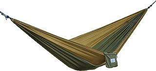 OuterEQ Portable Parachute Camping Hammocks Lightweight Nylon Fabric Travel Hammock