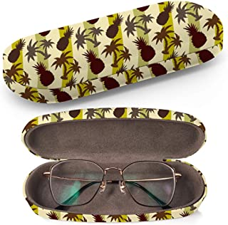 Hard Shell Glasses Protective Case Box + Cleaning Cloth – Fits most Eyeglasses and..