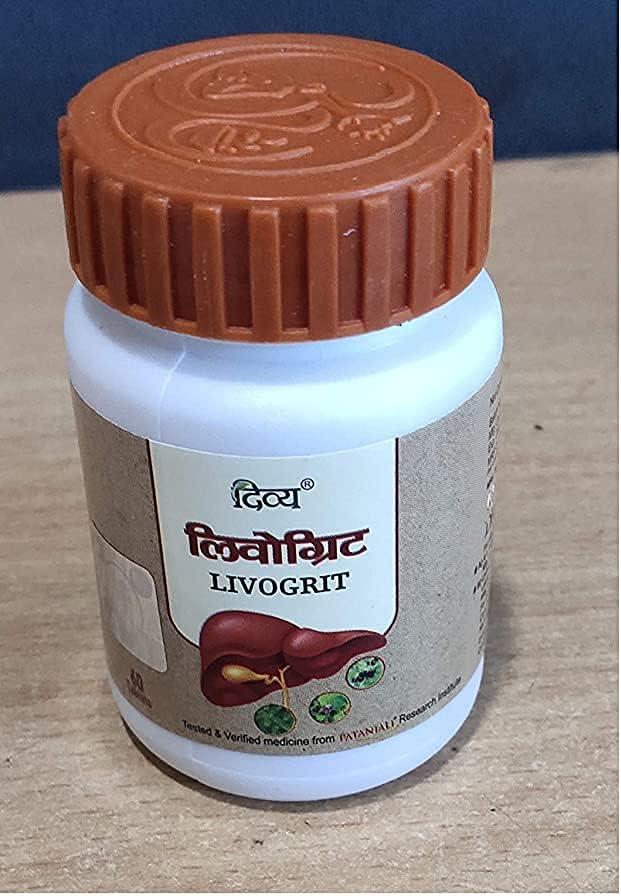 Voltizi Patanjali Divya Livogrit Tablet 60 of 1 - TAB Pack Reservation Today's only
