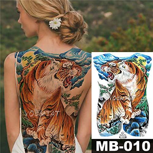 Handaxian 3pcs Angelo Croce Ali Grande Autoadesivo del Tatuaggio Tatuaggio Impermeabile Pieno Posteriore splendido Gioielli Body Art 2 Pezzi-5