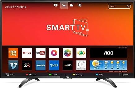 """Smart TV FULL HD 43"""", AOC LE43S5970S, Preto"""