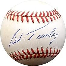 Bob Turley Signed Auto AL Baseball New York Yankees - Beckett Authentic