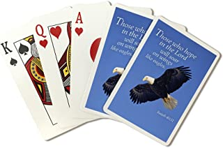 Isaiah 40:31 - Inspirational (Playing Card Deck - 52 Card Poker Size with Jokers)