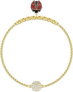 SWAROVSKI Remix Collection Ladybug Strand Charm Bracelet