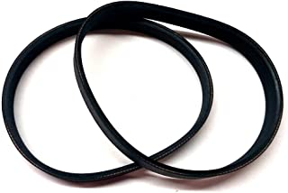 2 Pack Planer Replacement Drive Poly V Belt 135J6 for Delta 22-540 22-546 TP300, Ryobi AP10