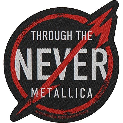 Rock Off Metallica - Through The Never (Toppa) Merchandising Ufficiale