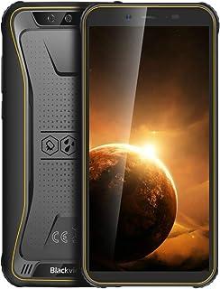 Mobile Phone BV5500 Plus Rugged Phone, 3GB+32GB, IP68 Waterproof Dustproof Shockproof, Dual Back Cameras, Face Unlock, 440...